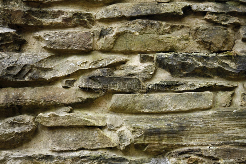 Stacked stone surface
