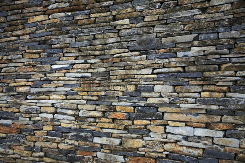 Download Stacked stone wall stock image. Image of craftsmanship - 15030335