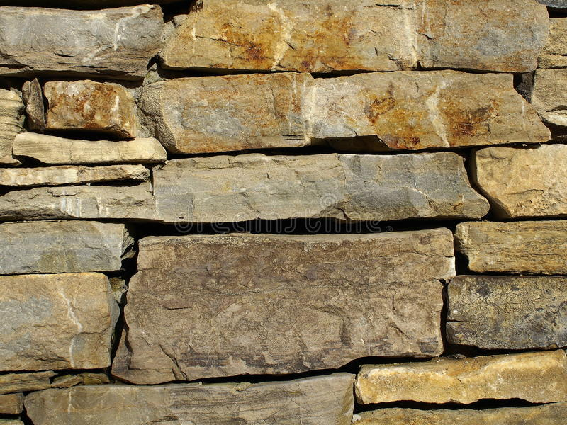 Download Stacked Stone Wall Background Stock Photo - Image of part, rust: 48027420