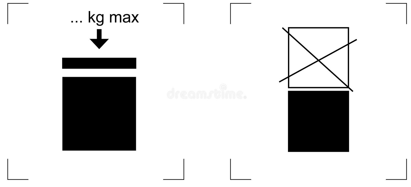 Download Stacking Load Package Pictogram Stock Vector - Illustration of liter, stack: 15434911