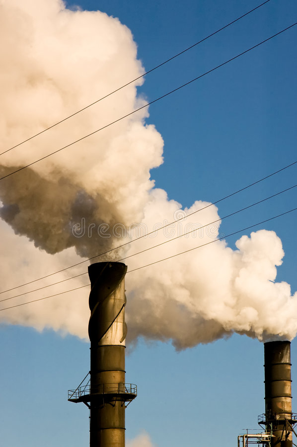 Download Stacks stock image. Image of chimney, smog, greenhouse - 3782201