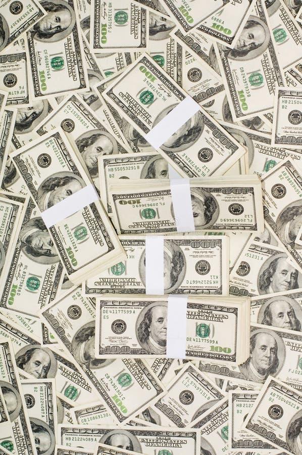 Stacks of Money stock photos