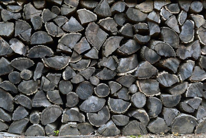 Stacks of sawn Korean woods. Pic was taken in August 2017 stock photos