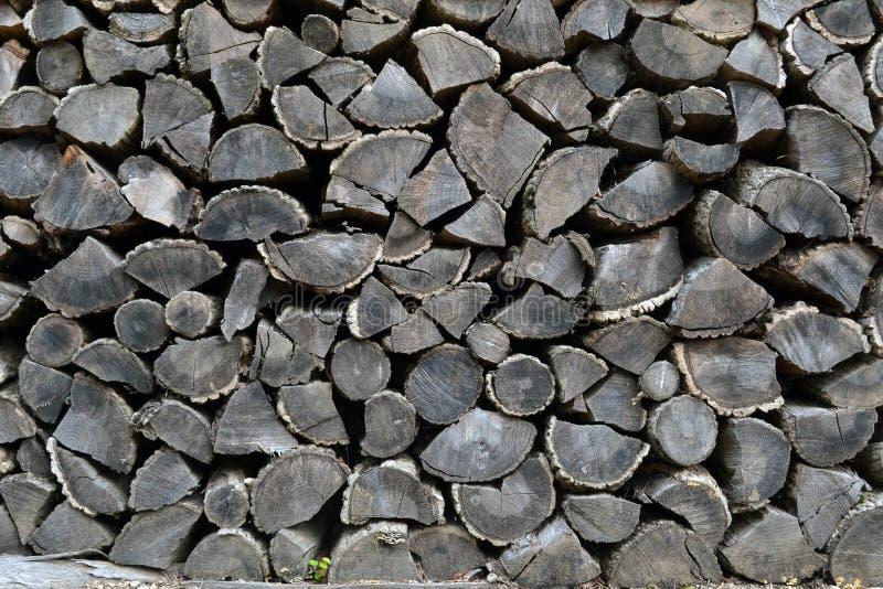 Stacks of sawn Korean woods. Pic was taken in August 2017 royalty free stock photos