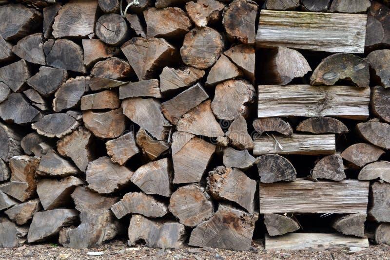 Stacks of sawn Korean woods. Pic was taken in August 2017 royalty free stock image