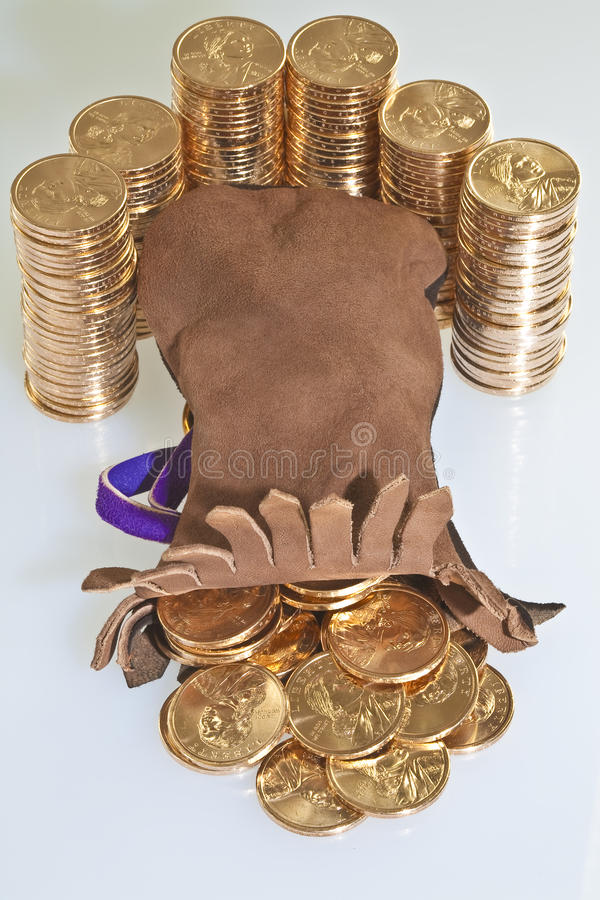 Download Stacks Of  US Dollar Gold Coins Stock Photo - Image: 11879912
