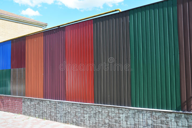 download stacks of various colorful metal fence panels and metal roof sheets for sale building