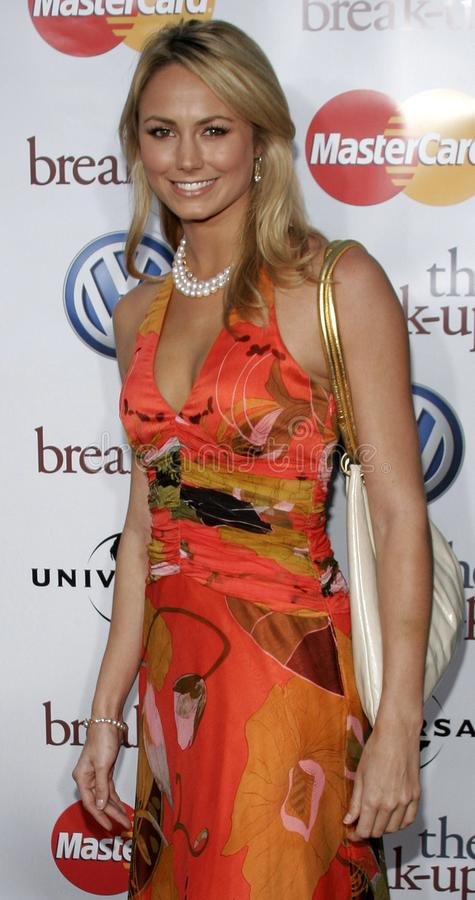 Stacy Keibler royalty-vrije stock afbeelding