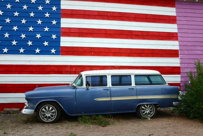 Stacyjny furgon zdjęcie stock