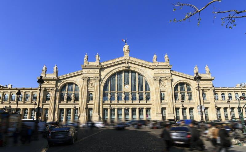 Stacyjny Gare Du Nord fotografia stock