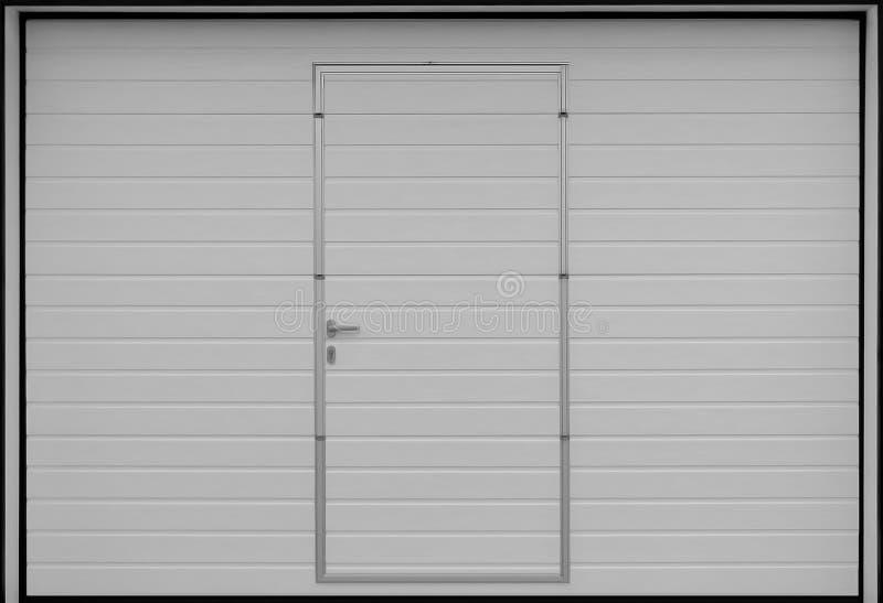 Stacza się w górę garaż drzwiowych bram, tekstury ilustracja zdjęcie stock