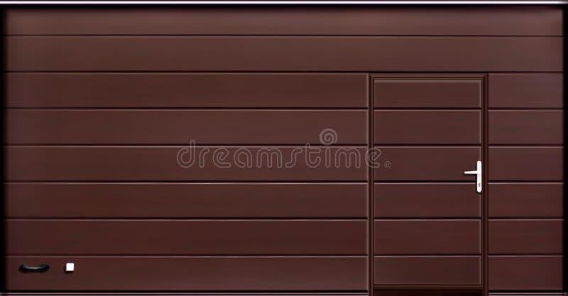 Stacza się w górę garaż drzwiowych bram, tekstury ilustracja zdjęcia royalty free
