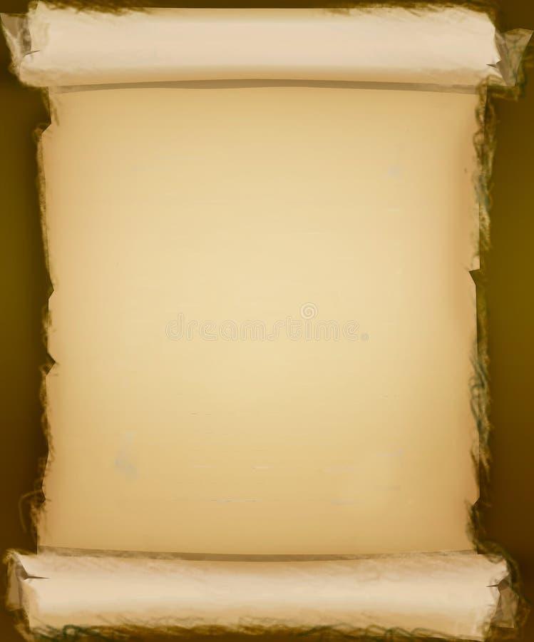 staczający się tło pergamin stary papierowy obrazy stock