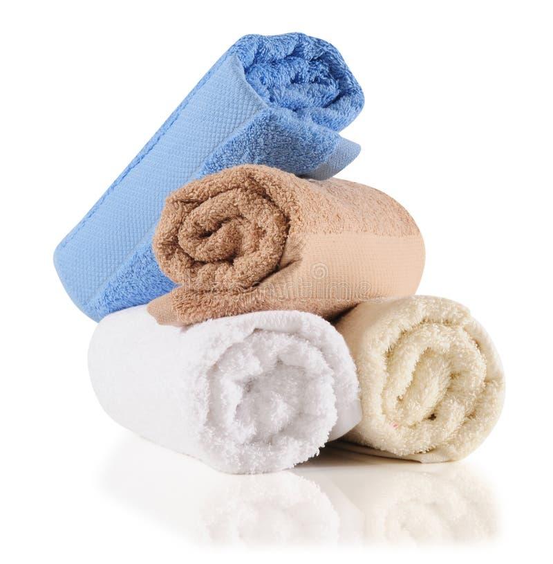Kąpielowi ręczniki. fotografia royalty free