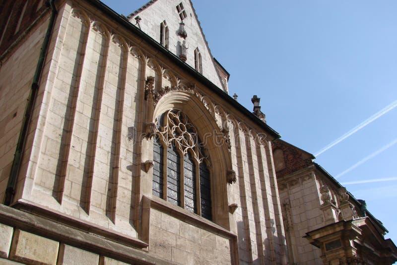 Stad †‹â€ ‹van Krakau Polen het landschap van moderne en oude Katholieke architectuur en monumenten van beeldhouwwerk royalty-vrije stock foto