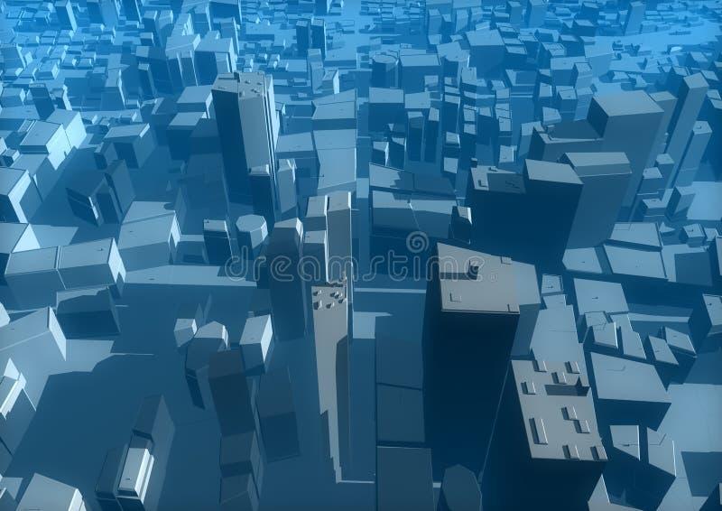 stad stock illustrationer