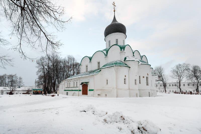 Stad Alexandrov, Vladimir-gebied Klooster Alexander Sloboda stock foto