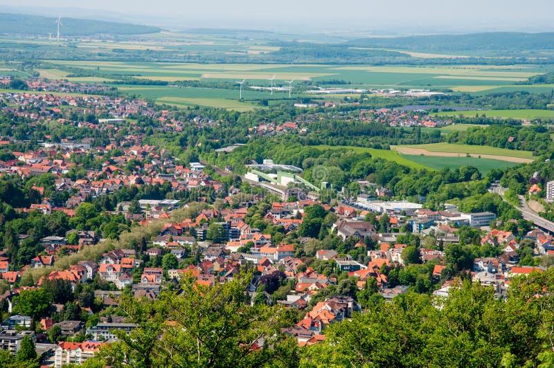 Stad av dåliga Harzburg i Tyskland royaltyfri foto