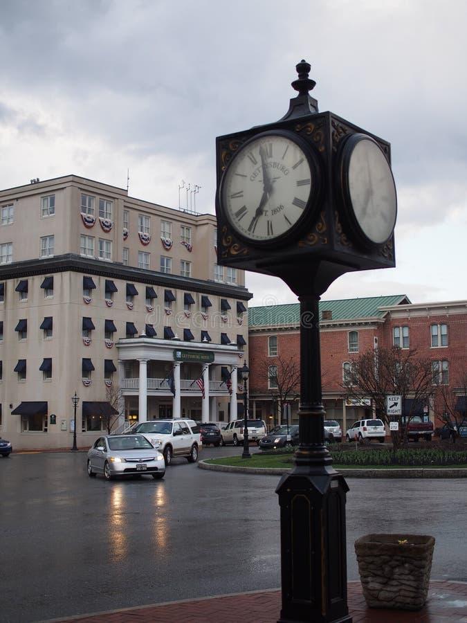 Stad av Gettysburg Pennsylvania royaltyfria foton