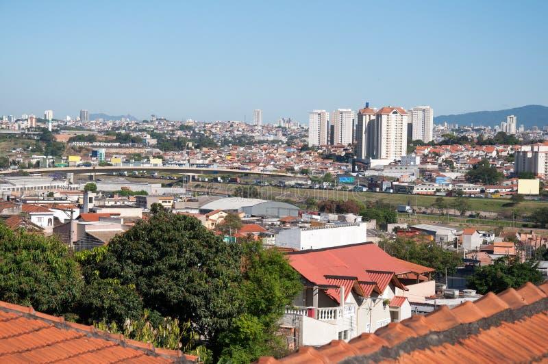 Download Stad av Guarulhos fotografering för bildbyråer. Bild av facade - 27277773