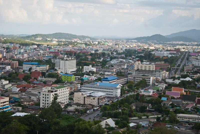 Stad av Hatyai Thailand royaltyfria foton
