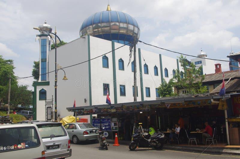 Stad av Johor Bahru i Malaysia royaltyfri foto