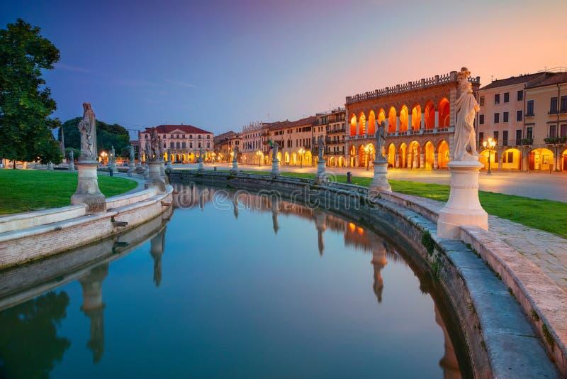 Stad av Padova, Italien arkivfoto