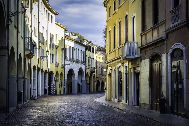 Stad av Padua arkivbild