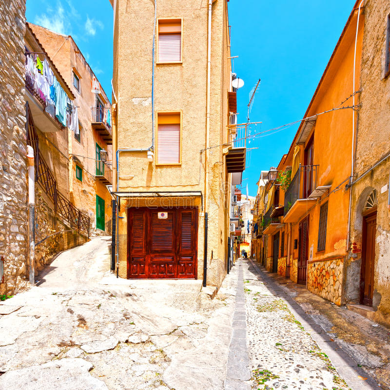 Stad av Palermo fotografering för bildbyråer