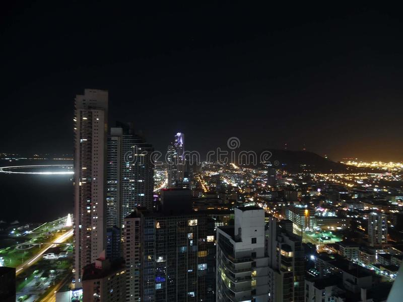 Stad av Panama royaltyfri fotografi