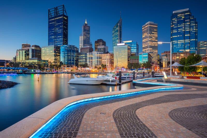 Stad av Perth royaltyfri bild
