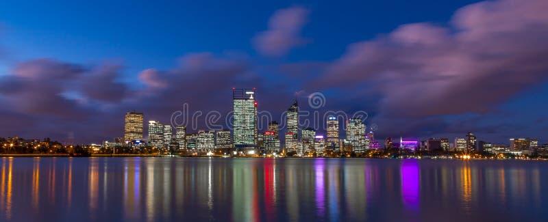 Stad av Perth arkivbild