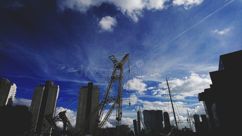 Stad av Rotterdam arkivfoton
