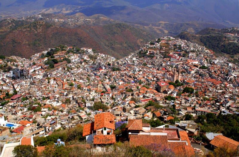 Stad av Taxco arkivbilder