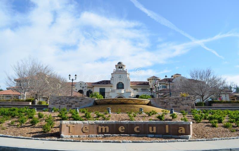 Stad av Temecula arkivfoto