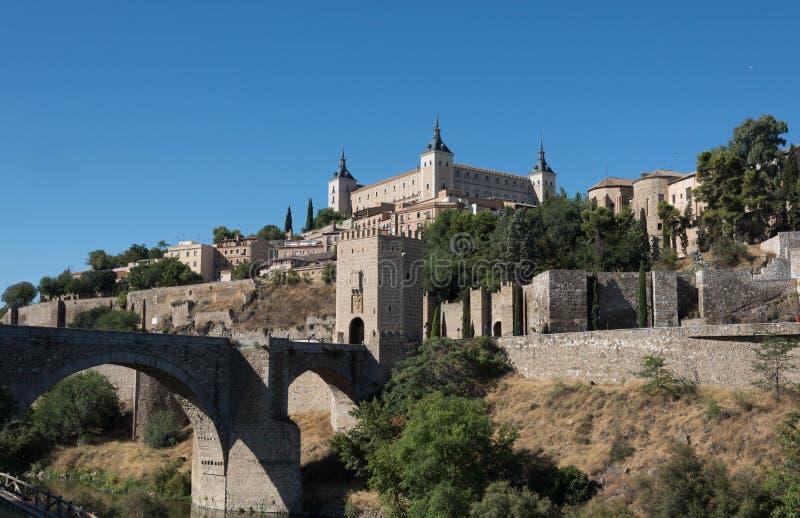 Stad av Toledo, Spanien royaltyfri fotografi