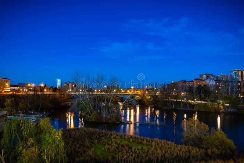 Stad av Valladolid i Spanien royaltyfria bilder
