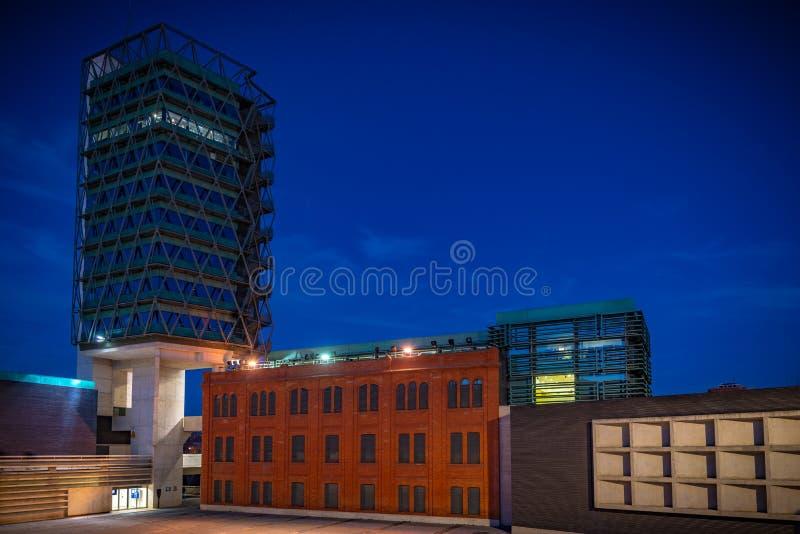 Stad av Valladolid i Spanien arkivfoton