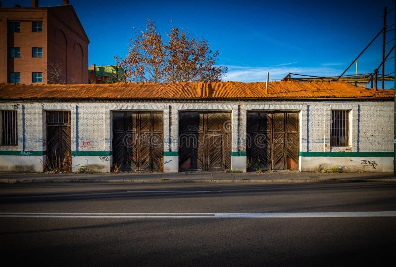 Stad av Valladolid i Spanien fotografering för bildbyråer