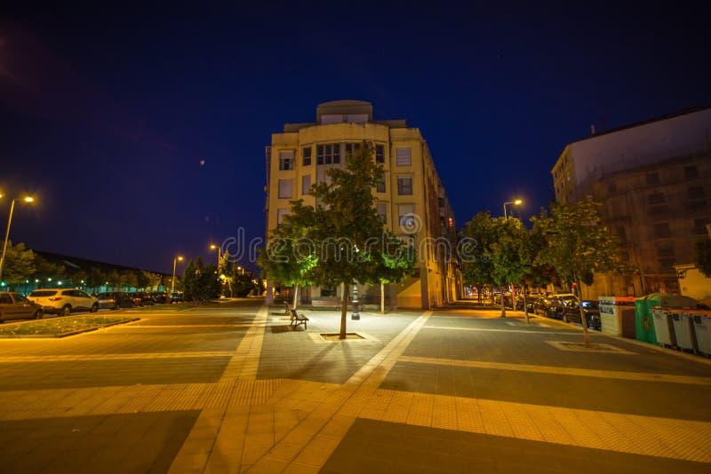 Stad av Valladolid Spanien royaltyfria bilder
