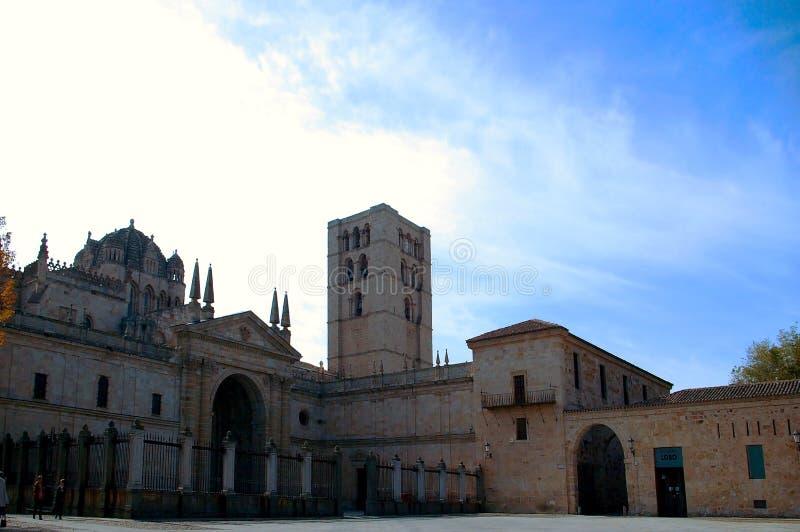 Stad av Zamora, castilen och Leon spain royaltyfri foto