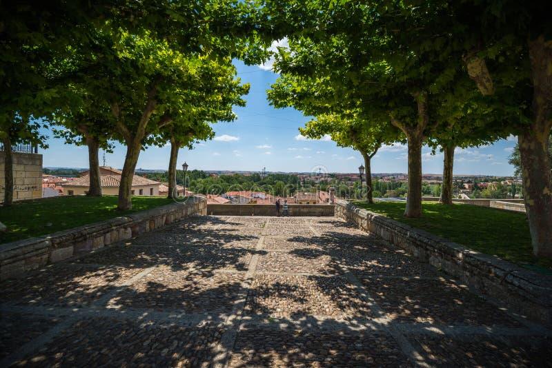 Stad av Zamora Spanien royaltyfri bild