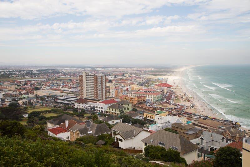 Stad för strandframdelferie arkivbilder