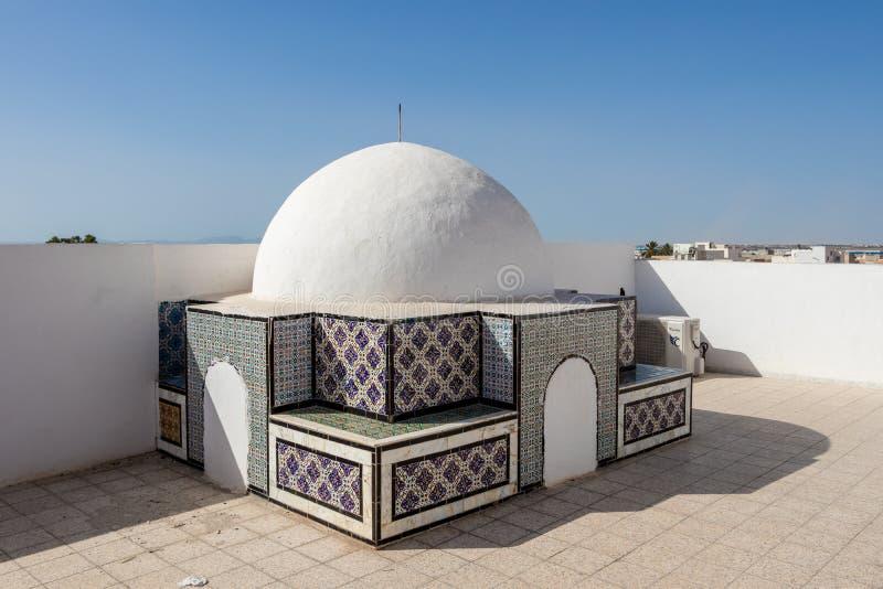 Stad för världsarv av Kairouan, Tunisien arkivbild