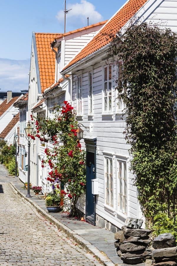 Stad Gamle стоковая фотография