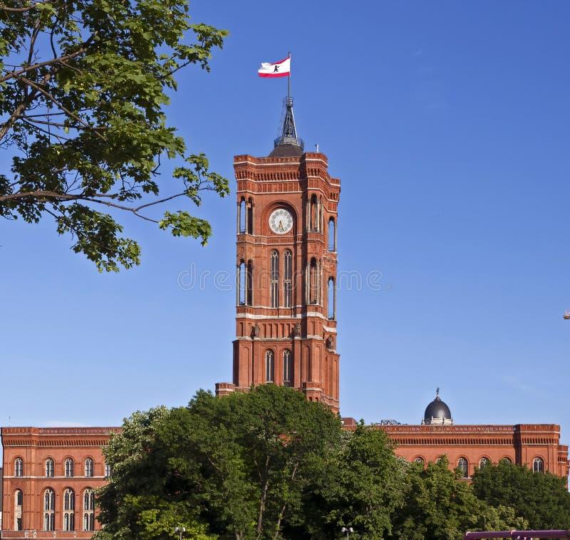 Stad Hall Tower royalty-vrije stock afbeeldingen