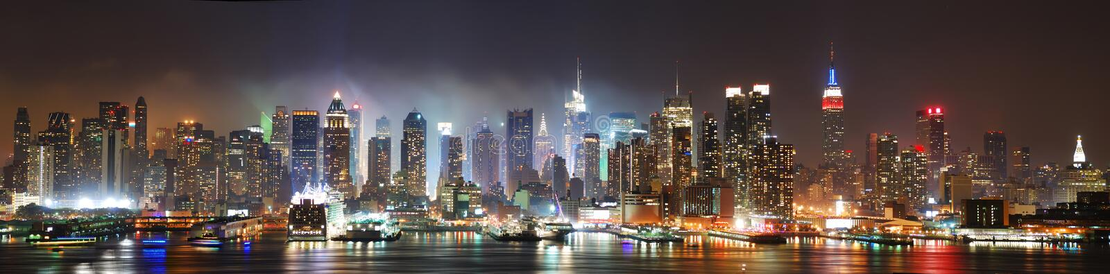 stad manhattan New York royaltyfri foto