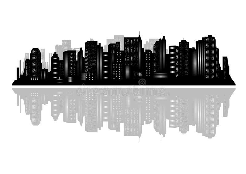 stad New York stock illustrationer