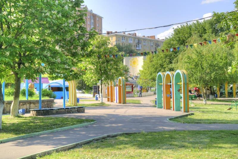 Stad Oryol Stadfyrkant arkivfoto