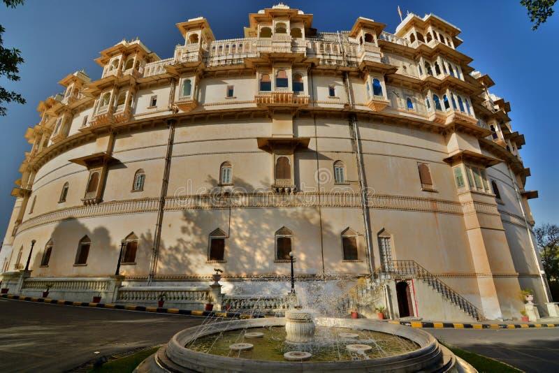 Stad Palace Udaipur Rajasthan India royalty-vrije stock afbeeldingen